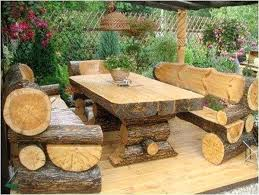 rustic outdoor table and chairs. Rustic Garden Furniture Fantastic Outdoor Ideas Patio Pendant Light Design Table And Chairs D