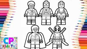Lego Spidermanx Manrobincoloring Pageslego Coloring Pages Kids