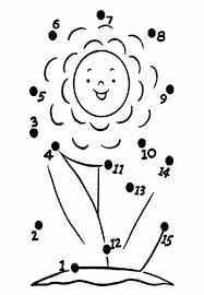 Một số mẫu vẽ nối số rèn luyện trí nhớ cho trẻ