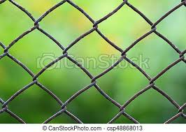 chain link fence background. Wonderful Fence Closeup View Of A Chain Link Fence With Mowed Green Field Blurred Into  Background Intended Chain Link Fence Background T
