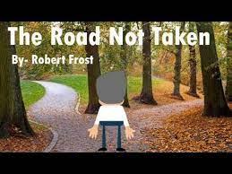 the road not taken poem by robert