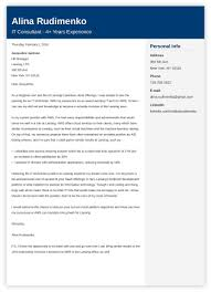 It Cover Letter Sample For A Resume Writing Guide 20 Examples