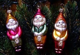 Lustige Zwerge Für Den Weihnachtsbaum 3er Set Multicolor