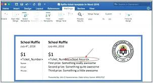 Create Tickets In Word Create Ticket Template Allthingsproperty Info