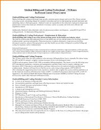 30 Sample Resume For Medical Billing Cover Letter Example For