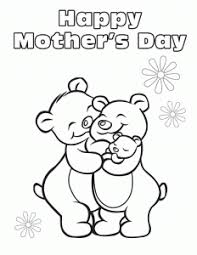 Disegno Festa Della Mamma Famiglia Di Orsetti Disegni Da Colorare