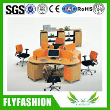 top quality office desk workstation. High Quality Wooden Office Desk Three Persons Workstation (OD-68) Top I