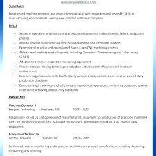 Machinist Resume Template Machinist Resume Sample Machining Resume