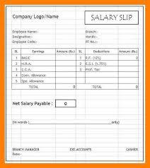 Format Salary Slip