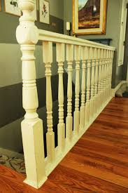 diy stair handrail with industrial pipes and wood keyword