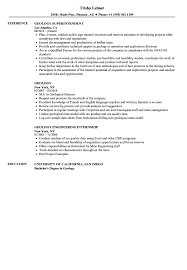 Geology Resume Samples Velvet Jobs