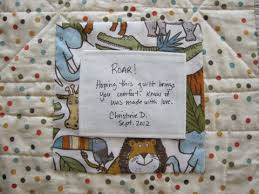 quilt labels | Christine Doyle & And finally ... Adamdwight.com