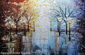 best palette knife painting