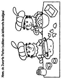 Piet Pepernoten Sinterklaas Sinterklaas Pepernoten Kleurplaten