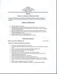 Hvac Cover Letter Example Entry Level Cover Letter Sample Hvac