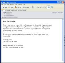 Examples Of Fraudulent Phishing E Mails Reliance Standard