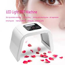 Red Light Skin Care Lampara Details About Led Light Therapy Skin Care Rejuvenation Pdt Anti Aging Facial Beauty Machine