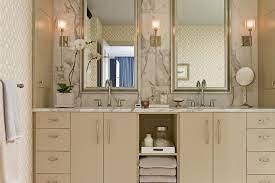 tan bathroom cabinets contemporary