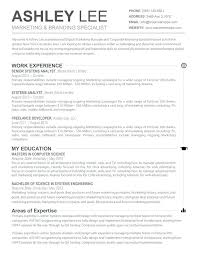 Resume Templates Mac