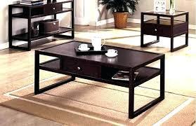 dark espresso coffee table transitional round coffee table with drawer dark espresso america