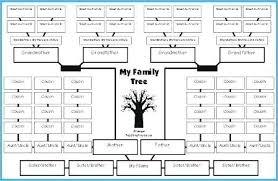 Family Tree Template Excel My Family Tree Printable