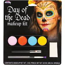 vire snake eyes female day of the dead makeup kit accessory walmart makeup kit with instructions