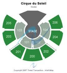 Seating Chart For Kooza Cirque Du Soleil San Francisco