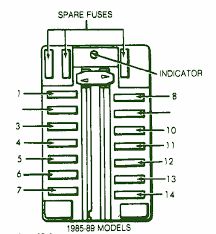 defogger relaycar wiring diagram page 2 1988 chrysler conquest under dash fuse box diagram