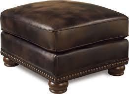 faux leather ottoman. Benson Faux Leather Ottoman