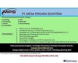Untuk lulusan smp cari di antara 18.300+ lowongan kerja terbaru di indonesia dan di luar negeri gaji yang layak pekerjaan penuh waktu, sementara dan paruh waktu cepat & gratis pemberi kerja terbaik kerja: Lowongan Kerja Di Pemalang Jawa Tengah Mei 2021