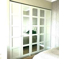 sliding door mirror wardrobe doors closet net with ikea 4 mirrored