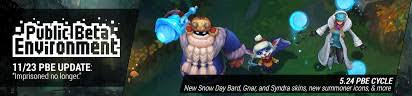 11/23 PBE Update: Snow Day Bard, Gnar, and ... - Surrender at 20