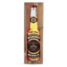 personalized barn wood wall mounted bottle opener