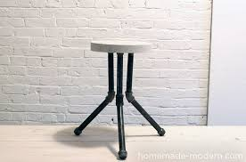 homemade modern diy ep8 1 cake pan stool options
