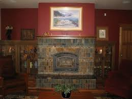 slate fireplace ideas rookwood pottery made beautiful tiles for fireplace surrounds for