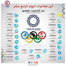 جدول أولمبياد طوكيو 2021.. فعاليات يوم الجمعة 6 أغسطس والقنوات الناقلة