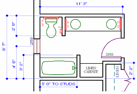 Bathroom Design Classy Construction Bathroom Plans