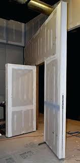 hidden wall door. make sliding bookcase hidden door pivot wall with secret man hardware bookshelf