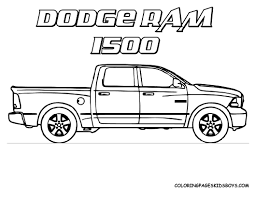 limited pickup truck coloring pages timely growth pictures of trucks to