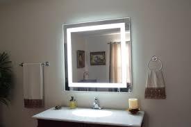 bathroom mirror with lights modern