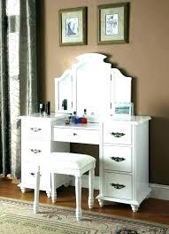 Vanity Set With Lights Bedroom Vanity With Lighted Mirror Set Lights ...