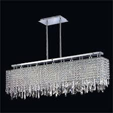 chandeliers rustic modern rectangular chandelier modern linear crystal chandelier innovations 592 by glow lighting modern