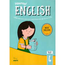 Sách - Hooray English - Tiếng Anh Vừa Học Vừa Chơi Dành Cho Bé Từ 4-6 Tuổi  (Reader Books 4)