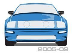 mustang convertible parts lmr com 2005 2009 mustang convertible top