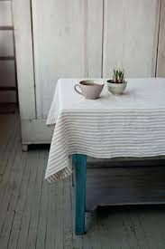 white linen tablecloth striped in natural and white linen tablecloth iconic linen 120 round white linen