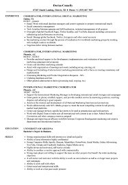 Marketing Coordinatoresume Pdf Samples Objective Templates ...