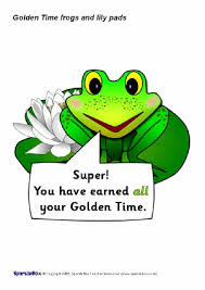 Frog Themed Behavior Chart Golden Time Classroom Display Resources And Printables