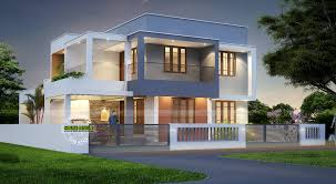 spacious living and dining rooms contemporary kitchen even study area is also provided in some designs 3d home plan