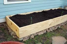 do it yourself raised garden beds. DIY Raised Bed Garden Ready For Our Seedlings Do It Yourself Beds O
