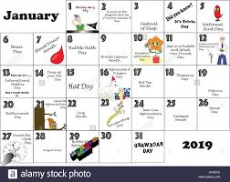 2010 Calendar January January 2010 Calendar Illustrated And Annotated With Daily Quirky